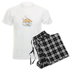 Proud New Grandpa Personalized Pajamas