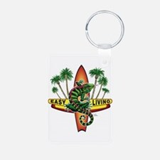 Easy Living Lizard Keychains