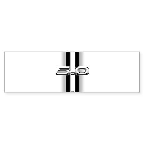 5.0 2012 Sticker (Bumper)