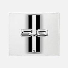 5.0 2012 Throw Blanket