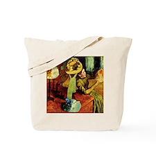 Paris Hat Shop, Degas Tote Bag