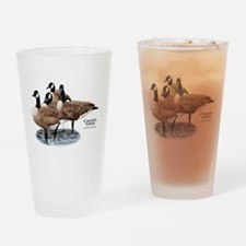 Canada Geese Drinking Glass