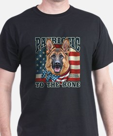 Patriotic - German Shepherd T-Shirt