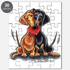 Smooth Dachshund Lover Puzzle