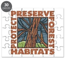 Preserve Forest Habitats Puzzle