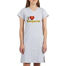 I Heart Tom Bergeron Women's Nightshirt