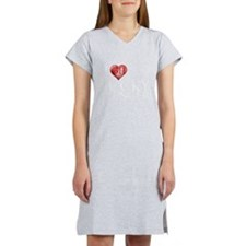 I Heart Lucky Spencer Women's Nightshirt