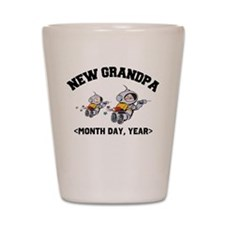 New Grandpa Personalized Shot Glass