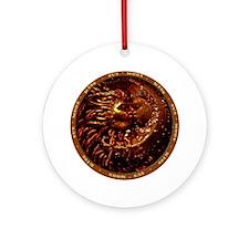 Kissing Sun & Moon Ornament (Round)