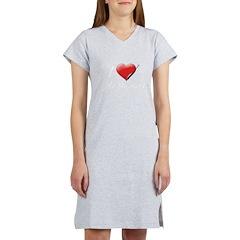 I Heart Kate Beckett Women's Nightshirt