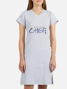 Blue Executive Chef Women's Nightshirt