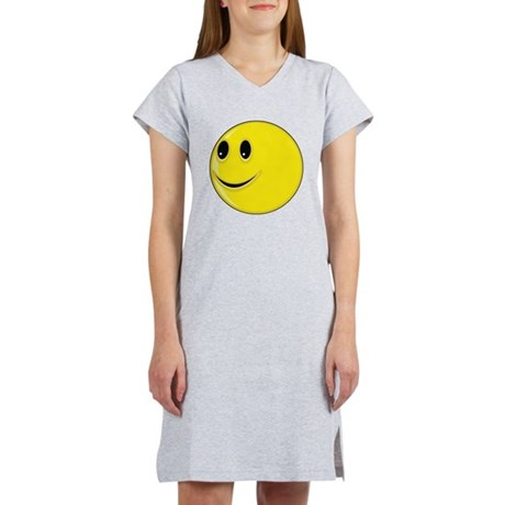 Smiley Face - Looking Right Women's Nightshirt