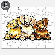 3 Golden Retrievers Puzzle