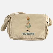 ALICE - NOT THAT INNOCENT Messenger Bag