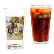 ROOSEVELT BEARS ELEPHANT PICN Drinking Glass