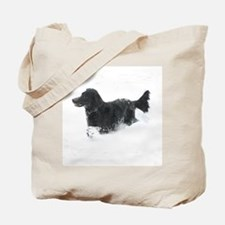 Cute Flat coated retriever birthday Tote Bag