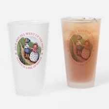 JACK & JILL WENT UP THE HILL Drinking Glass