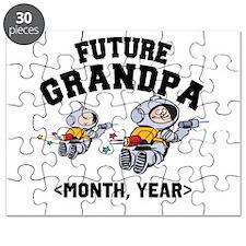 Personalized Future Grandpa Puzzle