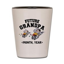 Personalized Future Grandpa Shot Glass