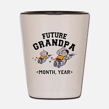 Personalized Future Grandpa Shot Glass