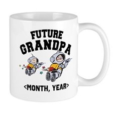 Personalized Future Grandpa Mug