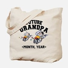 Personalized Future Grandpa Tote Bag