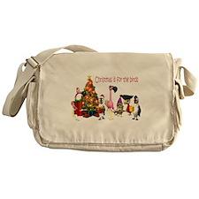 CHRISTMAS IS FOR THE BIRDS Messenger Bag
