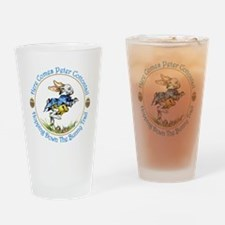 Easter- Here Comes Peter Cottontail Drinking Glass