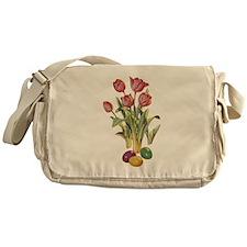 EASTER TULIPS Messenger Bag