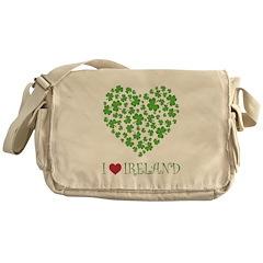 I LOVE IRELAND Messenger Bag
