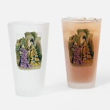 PARIS FASHION 1866 Drinking Glass