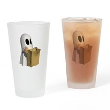 HAUNTING FOR CANDY Drinking Glass