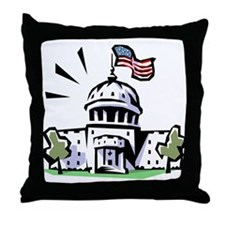 USA1 Throw Pillow