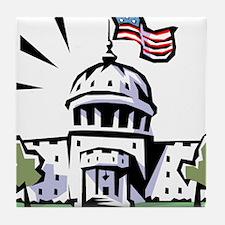 USA1 Tile Coaster