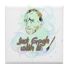 Just Gogh With It! Tile Coaster
