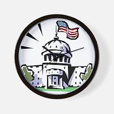 USA1 Wall Clock