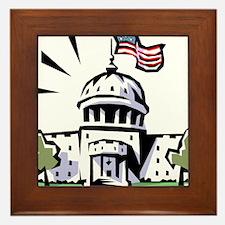 USA1 Framed Tile