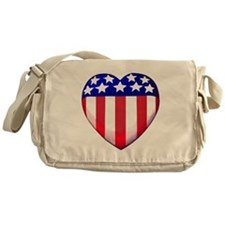MY AMERICAN HEART Messenger Bag