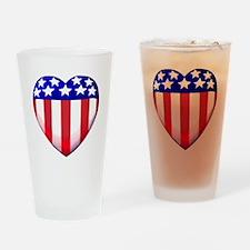 MY AMERICAN HEART Drinking Glass