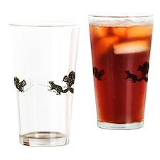 SQUIRREL SURVIVOR Drinking Glass