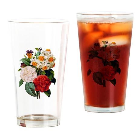 CAMELIA BOUQUET Drinking Glass