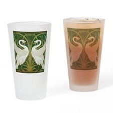SWANS GREEN Drinking Glass