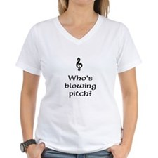 Who's blowing pitch? Shirt