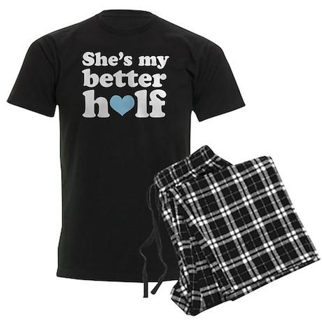 Better Half Couples Men's Dark Pajamas