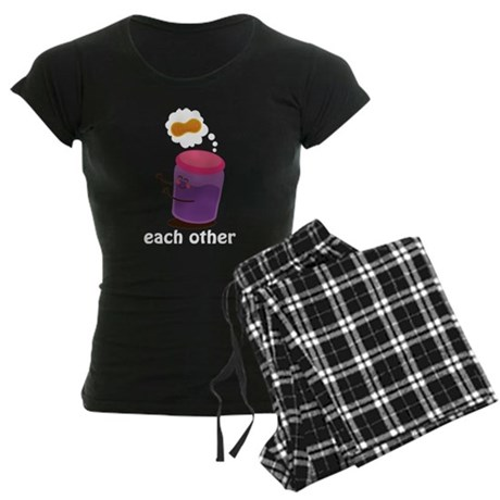 Couples Each Other Jelly Women's Dark Pajamas