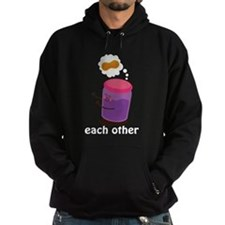 Couples Each Other Jelly Hoodie (dark)