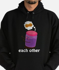 Couples Each Other Jelly Hoody