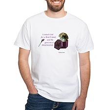 I Asked God -RecMag -Pekingese,Tan T-Shirt