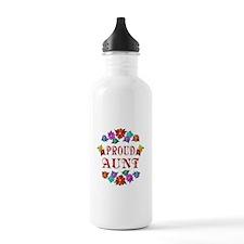Proud Aunt Sports Water Bottle