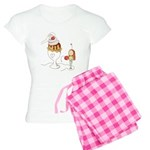 Ice Cream Couples Gift Women's Light Pajamas